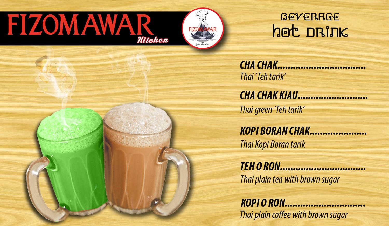 BEVERAGE hot drink