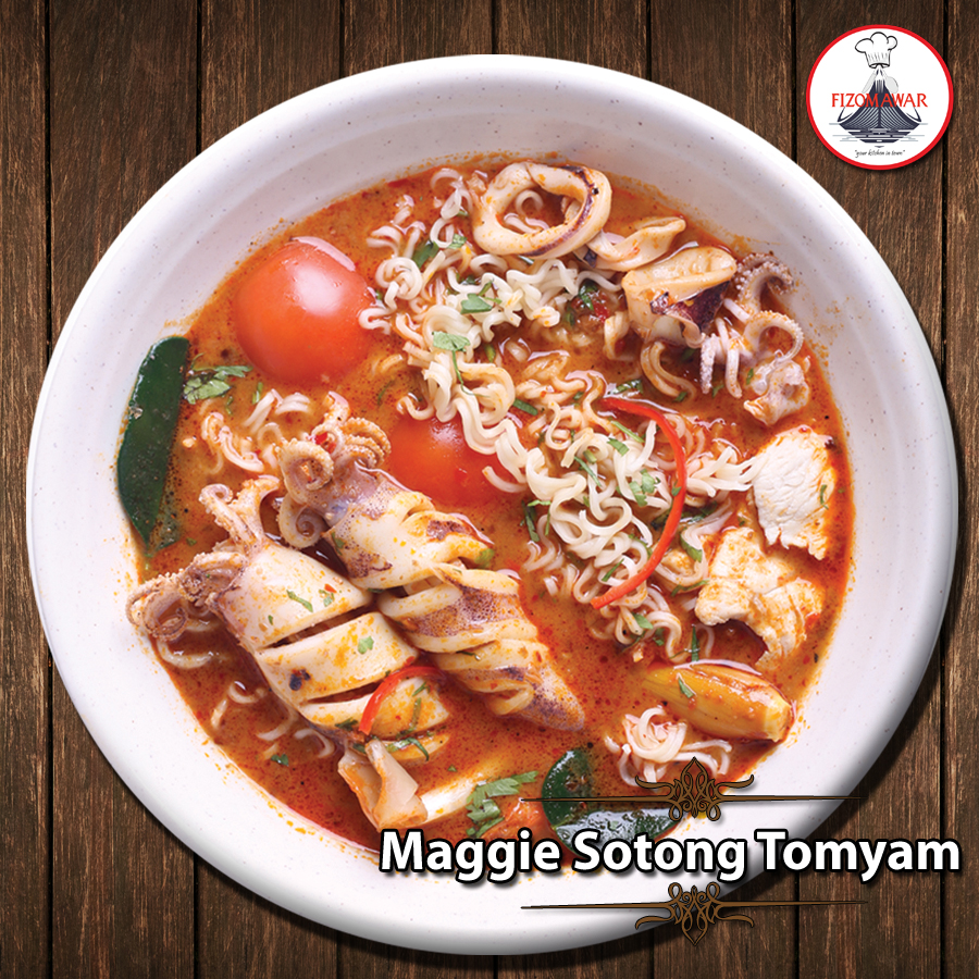 maggie sotong tomyam